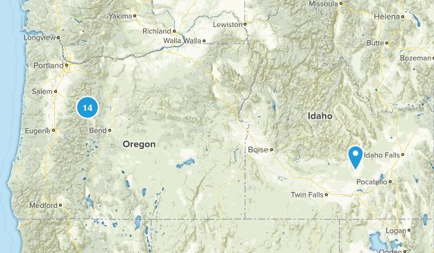 Central Oregon Trip Map