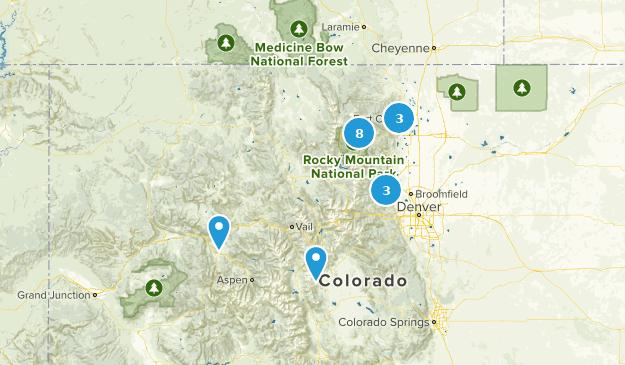 Colorado Must Dos Map