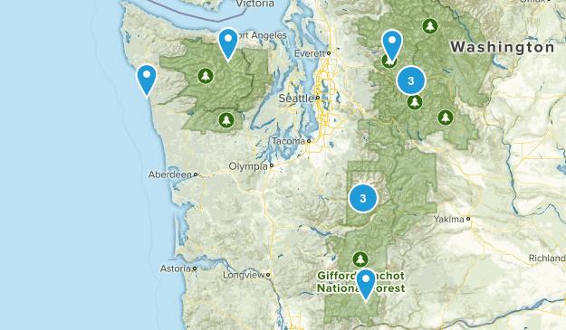backpacking/camping Map