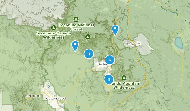 Sedona, AZ Map