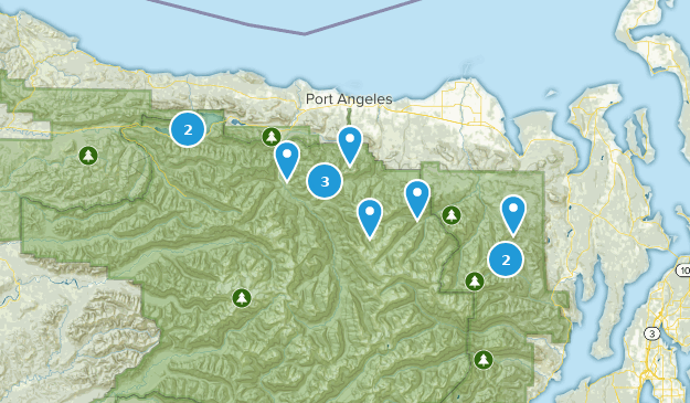 Olympic NP Map