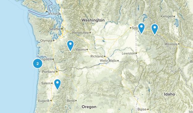 WA-ID-OR Map