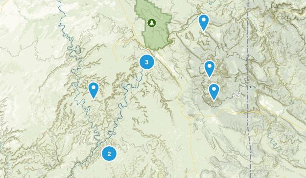 2018 moab Map
