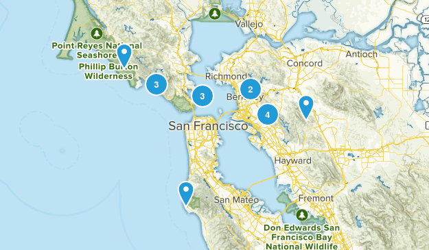 SF Bay Area Map