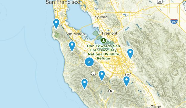 Bay Area Trails Map