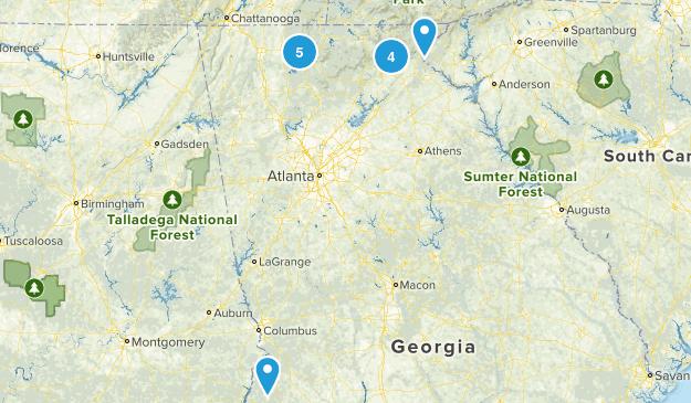 Backpacking/Camping - GA Map