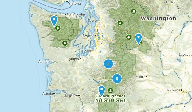 Washington Backpacking Map