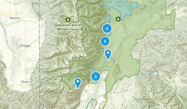 Grant Teton National Park Map