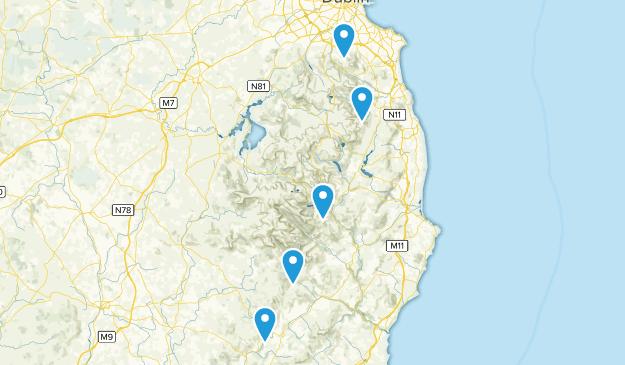 Wicklow Way Segments Map
