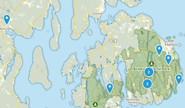 Acadia Bitch's Map