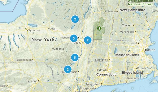 Upstate New York Map