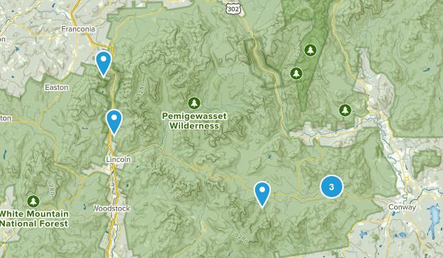 White mountain & The Kanc Map