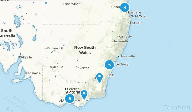 rich to do list australia Map