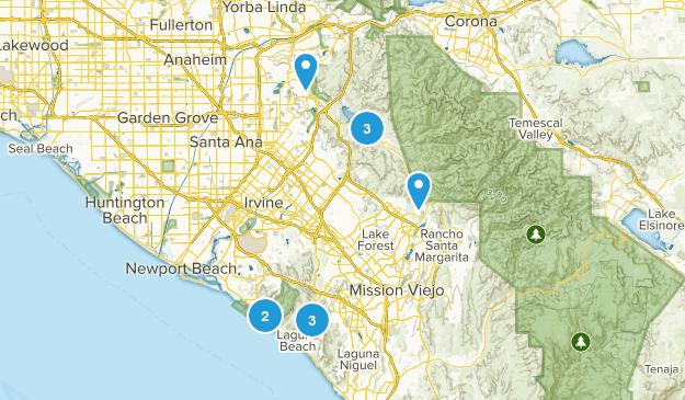 Hiking My Feelings Tustin Map