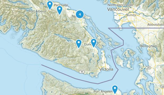 West Van Island Map