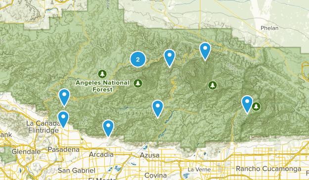 San Gabriel Trails Award Map