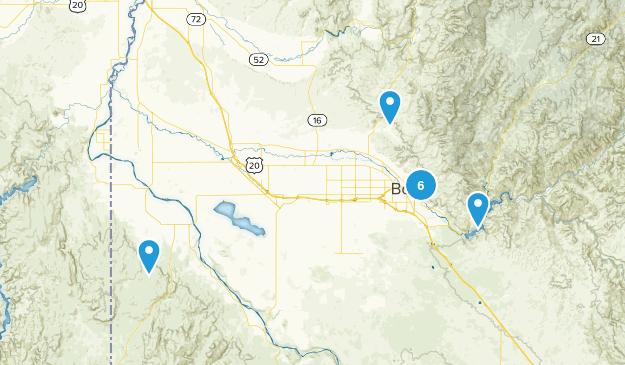 Treasure Valley Map