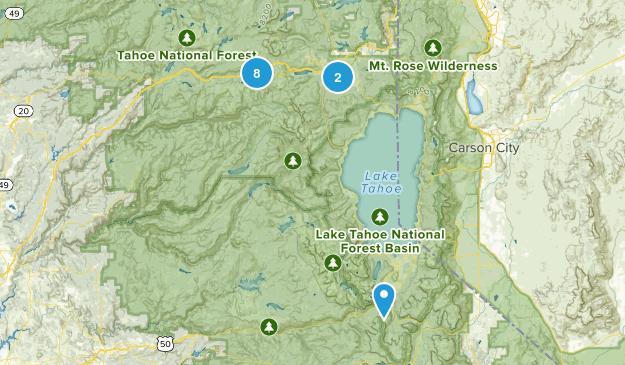 Truckee/ Tahoe Map