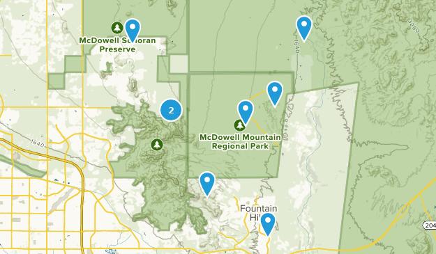 Fountain Hills Map