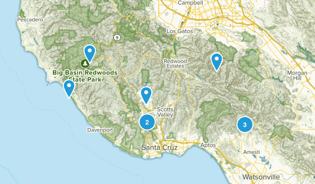 Santa Cruz area Map