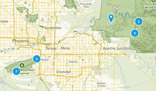 east trails Map