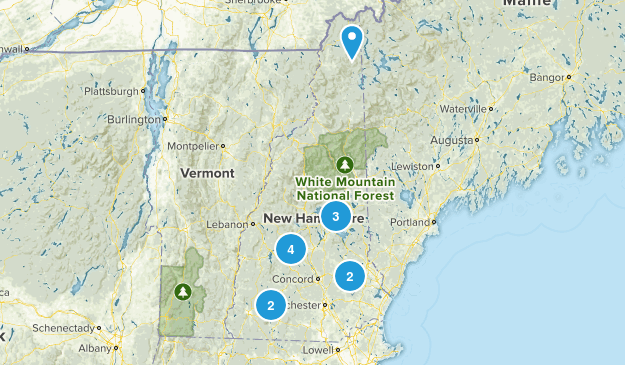NH Fire Towers Map