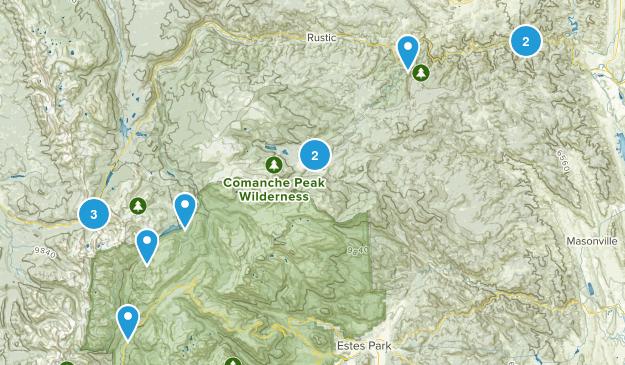 Poudre Canyon Map