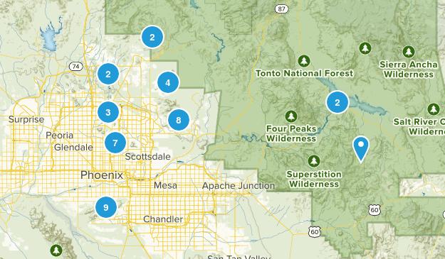 Scottsdale/Phoenix Map