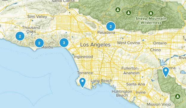LA Area Trails Map