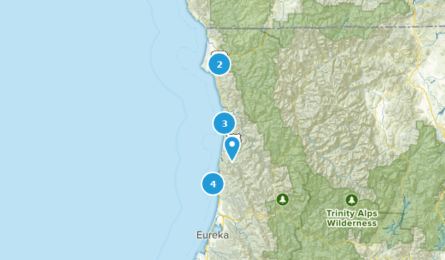 Cali North Coast Map