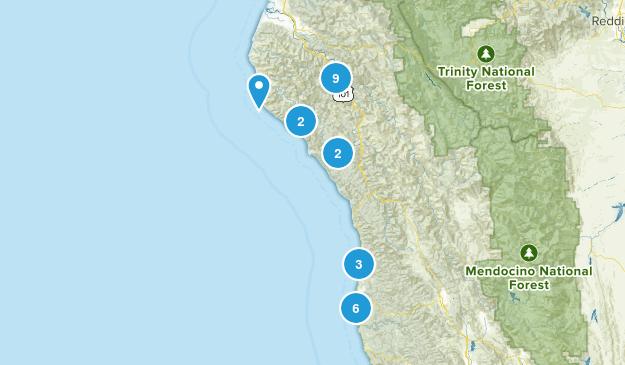 Lost Coast weekend trip Map