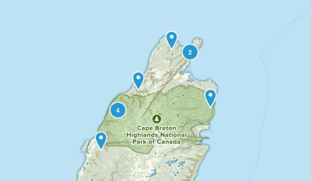 Cape Breton Map
