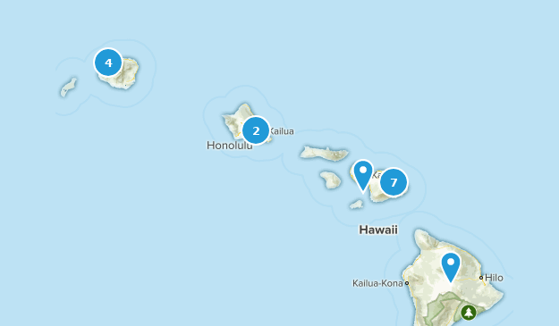 Must do Hawaii Map