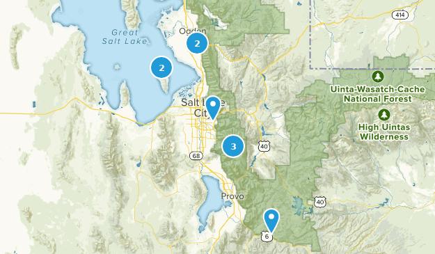 Salt Lake City 2018 Map