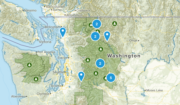 Completed - Washington Map