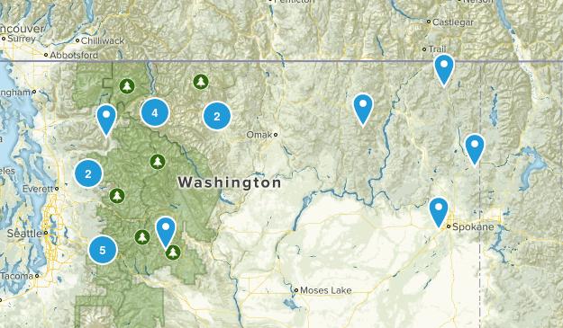 Washinton Trails Map