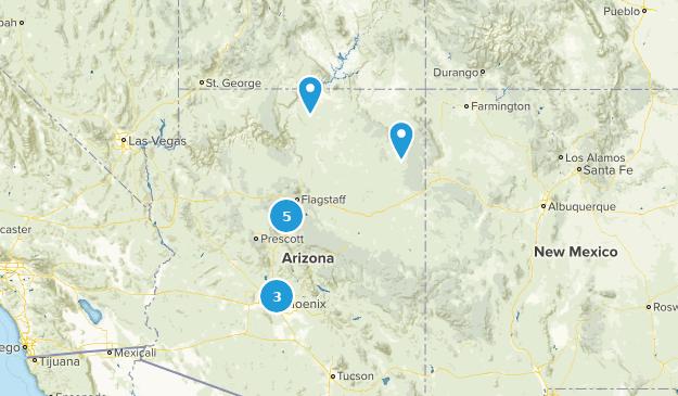 Phoenix trip Map