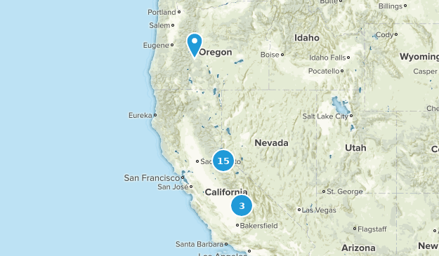 Backpacking trail possibilities Map