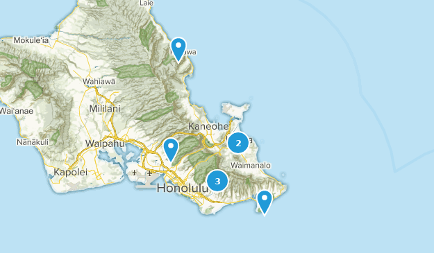 Hawaii wishlist Map