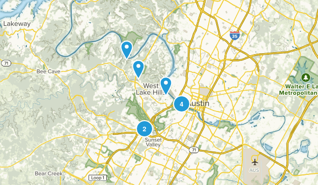 Want to do in Austin Map