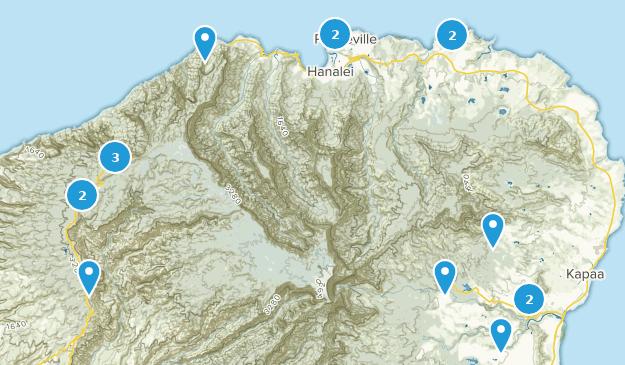 Kauaii Map