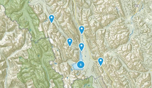Peter Lougheed Provincial Park Map