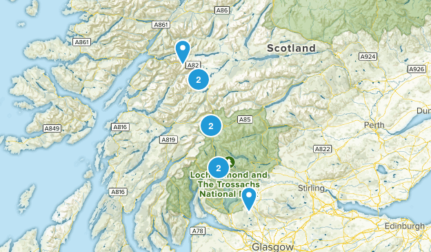 The West Highland Way Map