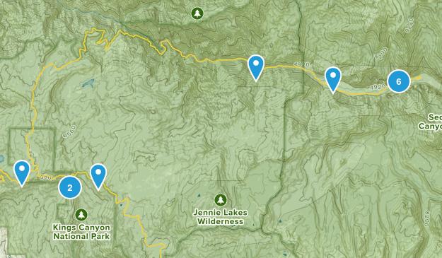 11 - Kings Canyong Map