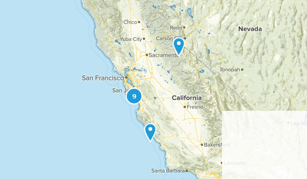 1 Day Backpacking Map