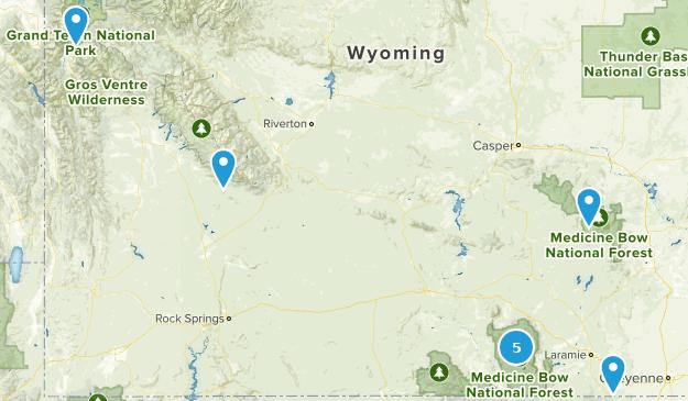 Wyoming - Wish List Map