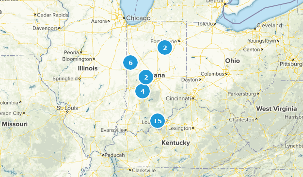 Indiana wish list Map