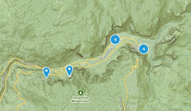 Yosemite - Trails Map