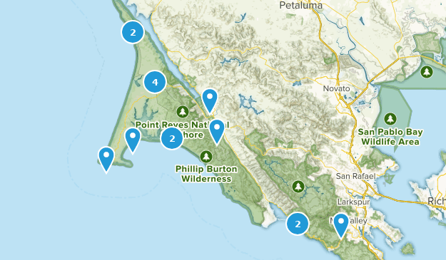 Point Reyes Seashore Map