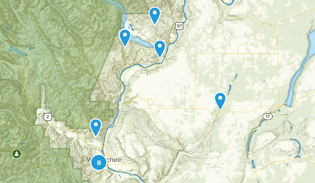 Nearby Trails Map
